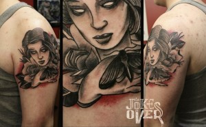 тату на плече  Тату на плече, сделать татуировку на плечах в Москве 4x jjSwHWmo 300x186