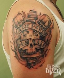 тату на плече  Тату на плече, сделать татуировку на плечах в Москве Z apal5xySk 248x300