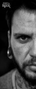 Станислав Соломчук тату-мастер черно-белой татуировки