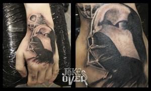 Черно-белое тату на руке  Черно-белое тату в Москве, мастер татуировки, эскизы 20150224wJuoV5yZ4UDudWuL khoIc large 300x180