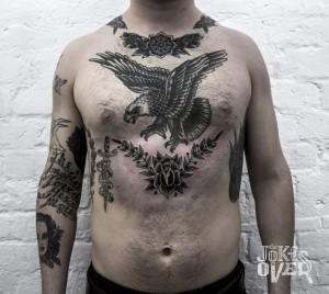 Американский орел тату  Old School тату в Москве, мастер татуировки pmsTQcXgUiM 300x268